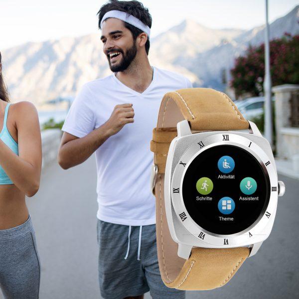 X-WATCH   NARA XW PRO Beste Smartwatch guenstig