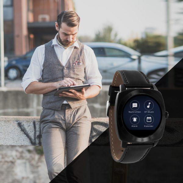 X-WATCH | NARA XW PRO | iOS Smartwatch - Handy Uhr - Aktivitätstracker