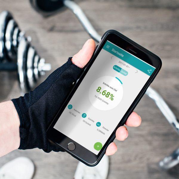X-WATCH   QIN II Smartwatch Uhr – gute Smartwatch – Test Smartwatch – Smartwatch rund – Smart Uhr