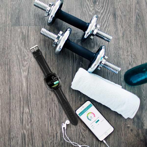 X-WATCH | NARA BC Handy Uhr – Fitnessuhr Test - Aktivitätstracker
