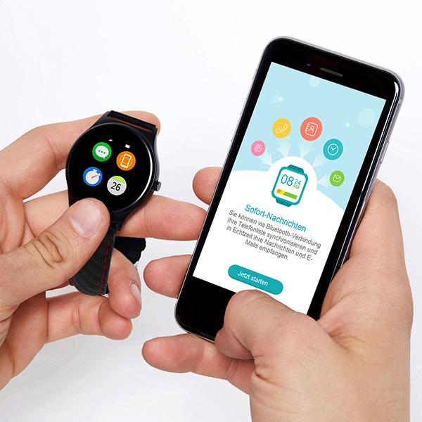 X-WATCH | QIN - iOS Smartwatch - Android Watch - BT Benachrichtigungs App