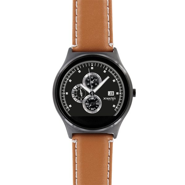 X-WATCH | QIN II Smart Watch für iPhone – günstige Smartwatch – Android Watch – Smartphone Uhr – Top Smartwatches