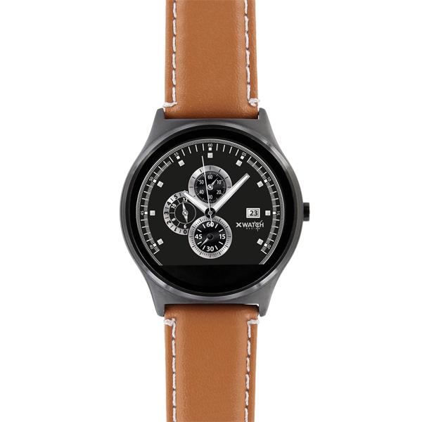 X-WATCH | QIN II Smart Watch für iPhone – günstige Smartwatch – Android Watch – Smartphone Uhr – Top Smartwatches