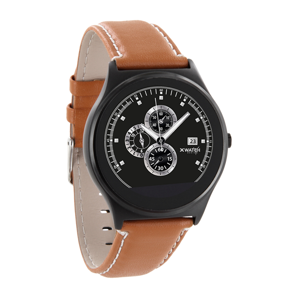 X-WATCH | QIN II | Smartwatch WhatsApp fähig – günstige Smartwatch iOS Smartwatch - beste Android Uhr - iOS Smartwatch - Test Smartwatch