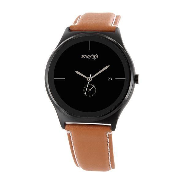 X-WATCH | QIN II Smartphone Uhr – Smartwatch mit Pulsmesser – Herren Smartwatch