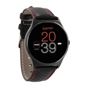 X-WATCH | QIN Smartwatch X-WATCH Carbon RED