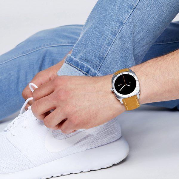 X-WATCH | NARA whatsapp smartwatch – Smartwatch rund – Fitnessarmband mit Pulsmesser - Aktivitätstracker