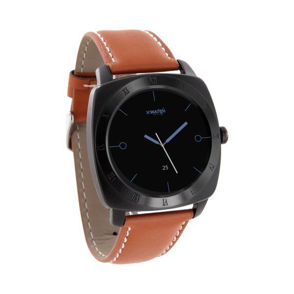X-WATCH | NARA BC | iOS Smartwatch - Handy Uhr – Aktivitätstracker - Smartwatch Rund - Smartwatch kaufen