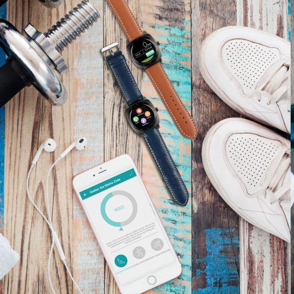 X-WATCH | NARA BC | Sport Smartwatch - Smartphone Uhr - Smart Uhr