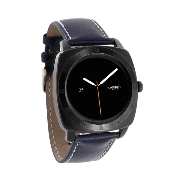 X-WATCH | NARA Black Chrome | Top Smartwatches - Aktivitätstracker - iOS Smartwatch - Android Smartwatch