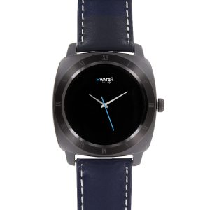 X-WATCH | NARA Black Chrome | Smartwatch Bestenliste – Whatsapp Smartwatch – Smartphone Uhr