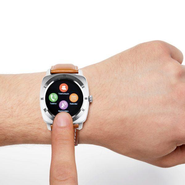 X-WATCH | NARA iOS Smartwatch – Smart Uhr – Smartwatch Ziffernblatt
