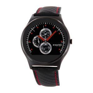 X-WATCH | QIN - Fitness Armband mit Pulsmesser - Smartphone Uhr - Handy Uhr