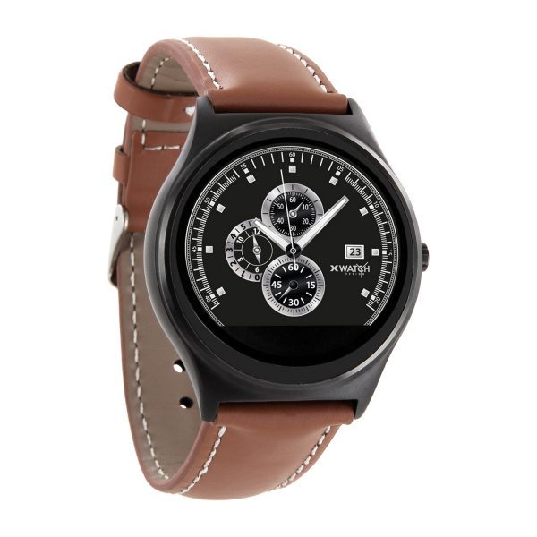 X-WATCH | QIN II – Smartwatch WhatsApp fähig – Aktivitätstracker - iOS Smartwatch - Smartwatch Apple kompatibel – Android Watch