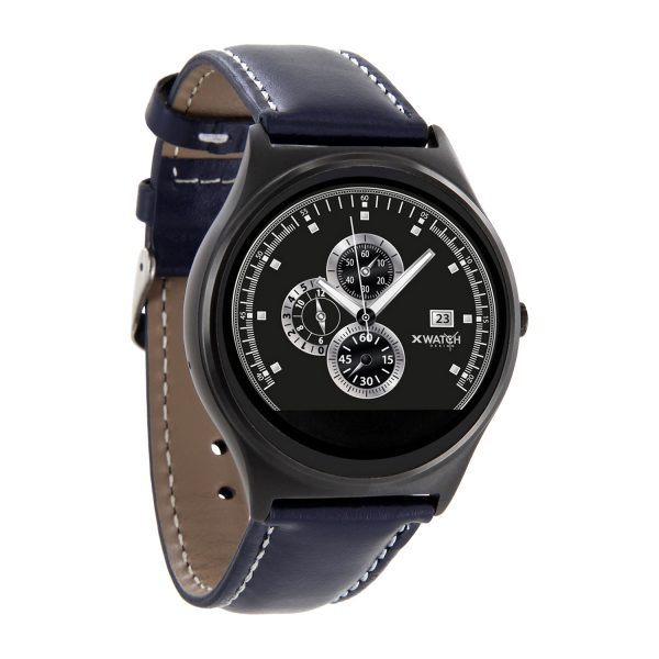 x watch qin xw prime ii herren smartwatch f r android. Black Bedroom Furniture Sets. Home Design Ideas