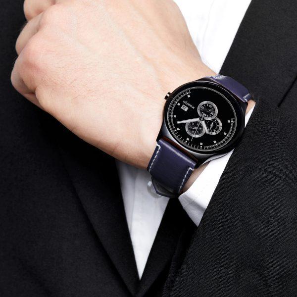 X-WATCH | QIN II | Smartwatch rund - Smartwatch Apple kompatibel - Smartwatch Software