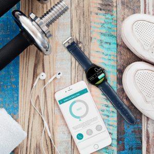 X-WATCH | QIN II | gute Smartwatch - Smartwatch Apple kompatibel - günstige Smartwatch