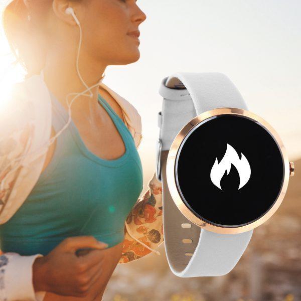 X-WATCH   SIONA Smartwatch Damen Android – Fitness Armband mit Pulsmesser – Smartwatch 2