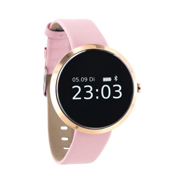 X-WATCH | SIONA Smartwatch Fitness Tracker elegant -Smartwatch Damen Android – Smartwatch Damen iOS – Smartwatch Android Damen WhatsApp – Android Uhr Damen