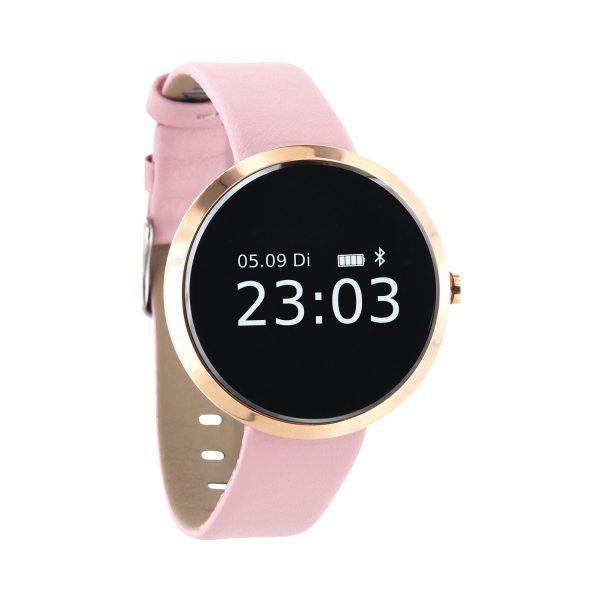 X-WATCH | SIONA Smartwatch Fitness Tracker elegant -Smartwatch Damen Android – Smartwatch Damen iOS – Smartwatch Android Damen WhatsApp – Android Uhr Damen