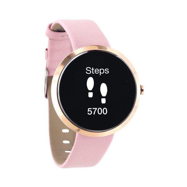 X-WATCH | SIONA Smartwatch Frauen – Fitness Armband mit Pulsmesser – Smartwatch mit Blutdruck
