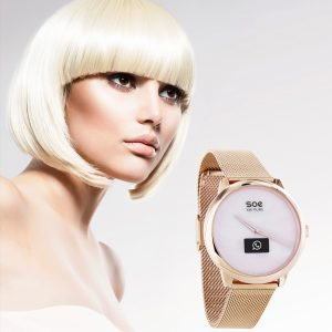 Damen Hybrid Smartwatch