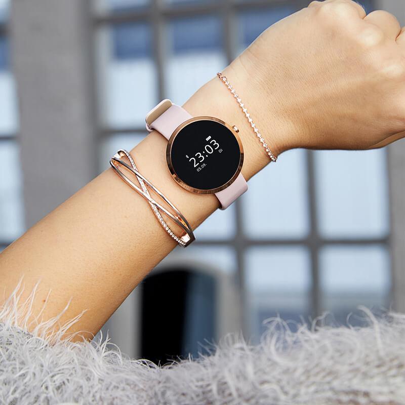 x watch siona smartwatch damen test sehr gut. Black Bedroom Furniture Sets. Home Design Ideas