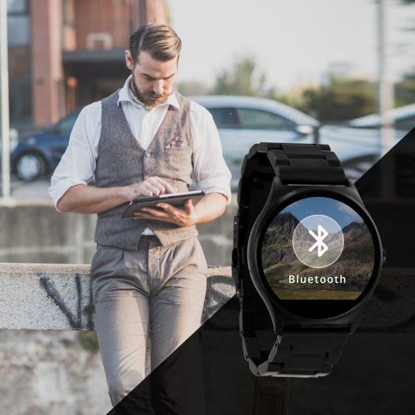 QIN Dark Steel Smartawatch günstig X-WATCH