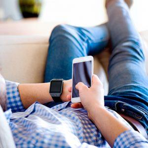 X-WATCH | X30W gute Smartwatch – Smartwatch mit SIM Karte – Smart Uhr für iPhone