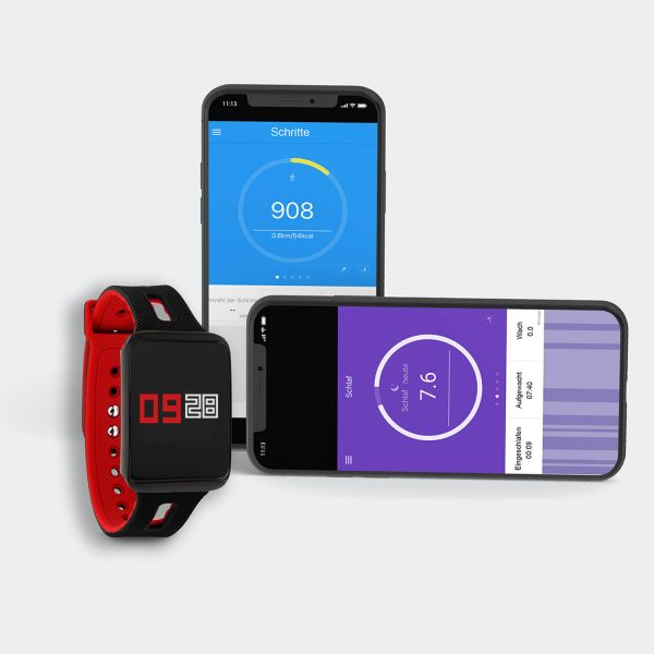 X-WATCH | KETO Android Watch – Fitnessarmbänder Test – Smartwatch Software