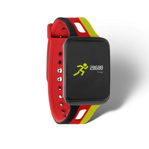 X-WATCH | KETO Fitness Armband mit Pulsmesser – Smart Uhr einstellen – Fitness Armband schwimmen Test