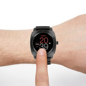 Smartwatch design Nara XW Pro dark Steel - X-WATCH