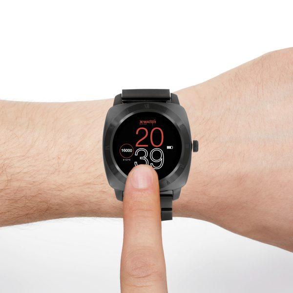 Smartwatch design Nara XW Pro dark Steel - X-WATCH