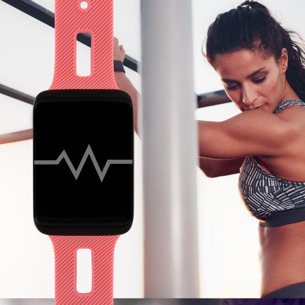 fitness tracker mit herzfrequenz; sportuhr; Eckige Uhren Damen
