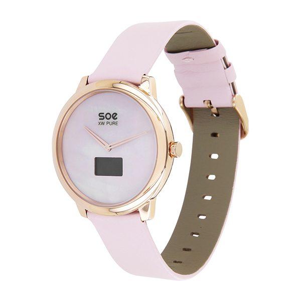 Hybrid Smartwatch Damen - Damenuhr rosegold