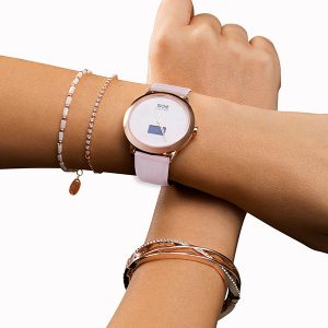 Smartwatch Damen rose - Uhr mit Schrittzähler