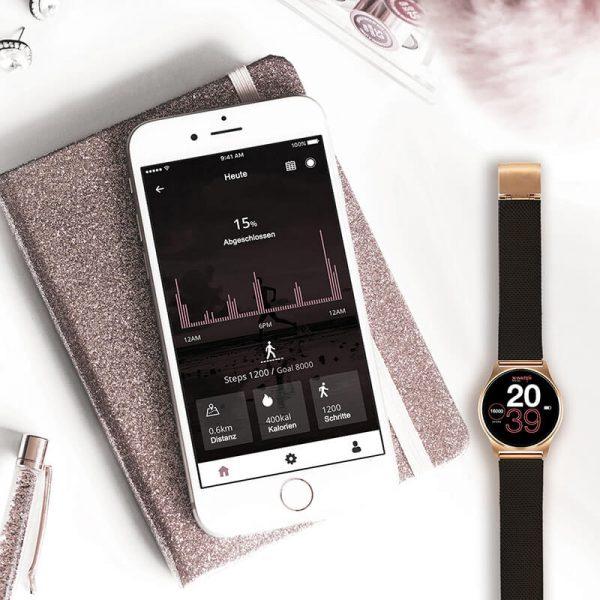 X-WATCH_Joli smartphone_uhr smartwatch whatsapp faehig
