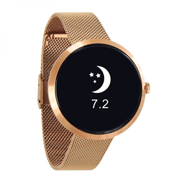 X_WATCH_SIONA_rose_gold_smartwatch