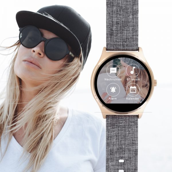 Joli 5404 Urban Textil Damen Wearables Smartwatch Design