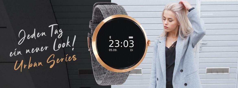 SpSporttracker Elegant Damen Smartwatch rosegold