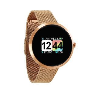 SIONA COLOR Gold Fitness Uhr