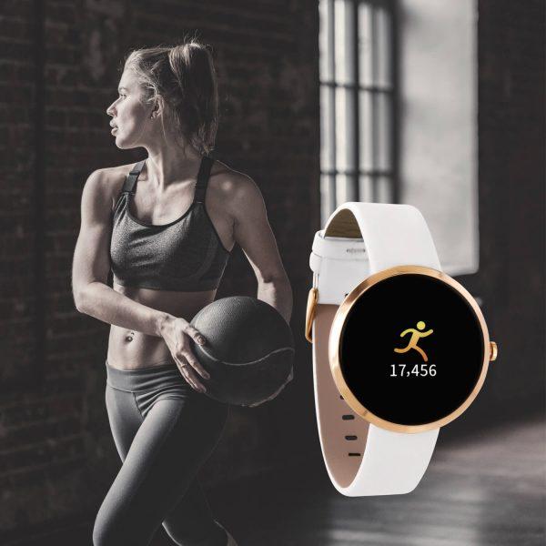 SIONA COLOR Damen Smartwatch