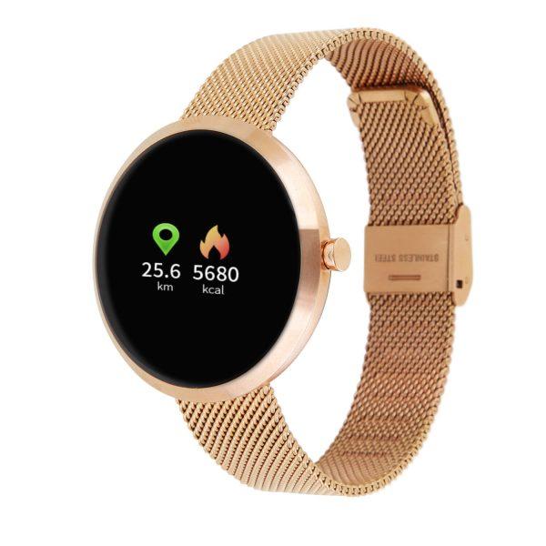 SIONA COLOR Gold Sportliche Uhren für Damen