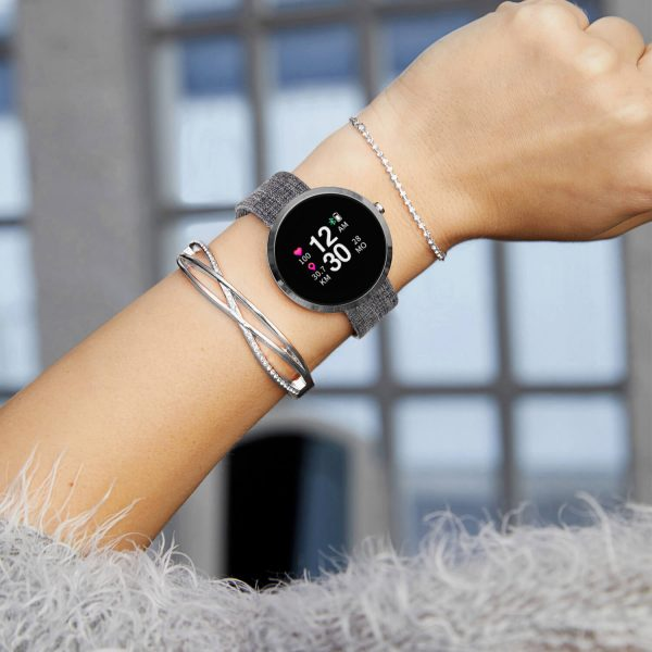 SIONA Color Silver Smartwatch