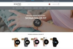 Siona ColorFIT Seite XWATCH